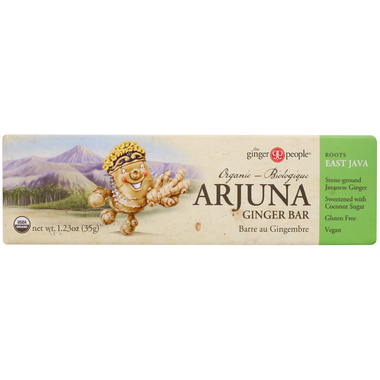 The Ginger People Organic Arjuna Ginger Bar