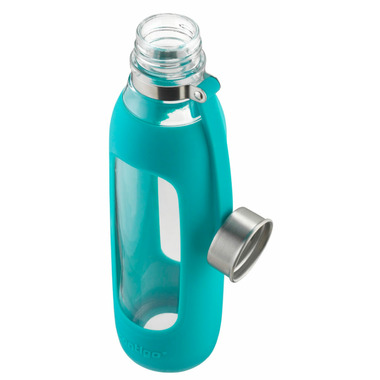 Contigo Purity Scuba With Silicone Tether Glass Water Bottle