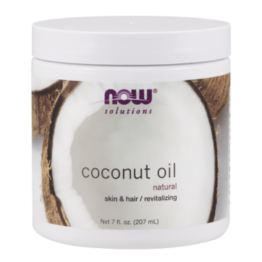 NOW Solutions 100% Natural Coconut Oil