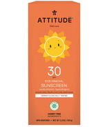 ATTITUDE Little Ones 100% Mineral Sunscreen Vanilla Blossom SPF 30