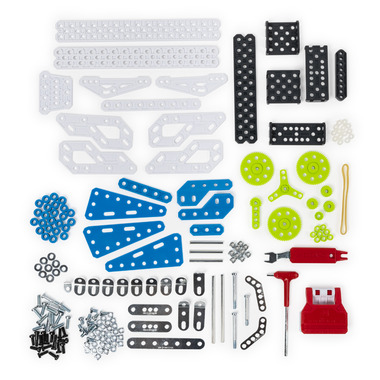 Meccano Geared Machines S.T.E.A.M. Building Kit with Moving Parts