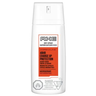 Axe Adrenaline Dry Spray Antiperspirant
