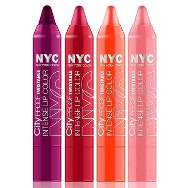 N.Y.C. City Proof Twistable Intense Lip Colour