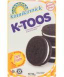 Kinnikinnick KinniTOOS Gluten Free Chocolate Sandwich Cookies