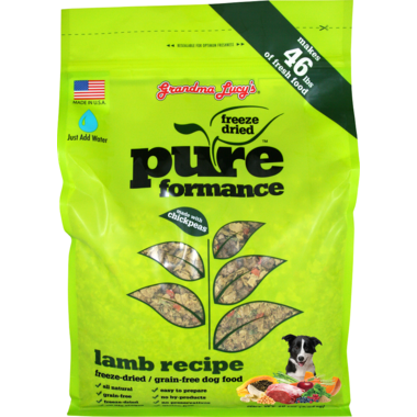Grandma Lucy\'s Pureformance Lamb Freeze-Dried Grain-Free Dog Food
