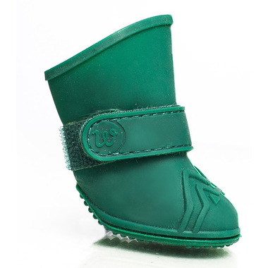 Wellies Boots for Dogs Large in Green