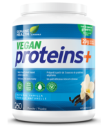 Genuine Health Vegan Proteins+ Powder Natural Vanilla