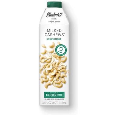 Elmhurst Unsweetened Milked Cashew