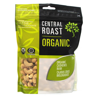 Central Roast Organic Raw Cashews