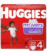 Huggies Little Movers Diapers Jumbo Pack