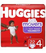 Huggies Little Movers Diapers Jumbo Pack