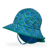 Sunday Afternoons Kids Play Hat Blue Solar Geodes