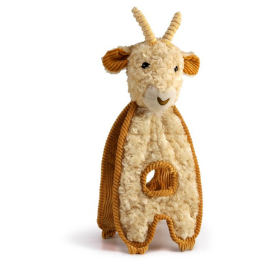Charming Pet Products Cuddle Tug Goat Dog Toy