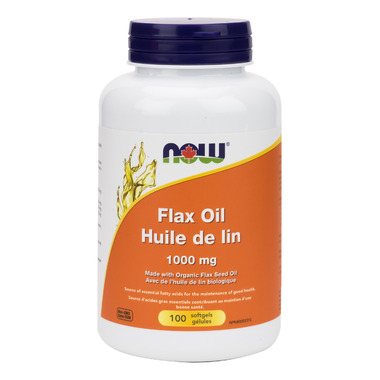 NOW Foods Flaxseed Oil 1000 mg