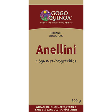 GoGo Quinoa Anellini Baby Vegetable Pasta