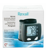 Rexall Wrist Automatic Blood Pressure Monitor