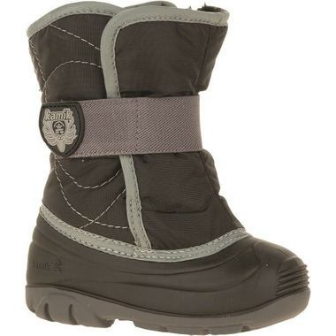 Kamik Snowbug3 Kid\'s Boots Black & Grey