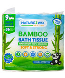 NatureZway Bamboo Bath Tissue Mega Roll