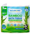 NatureZway Bamboo Bath Tissue Mega Roll