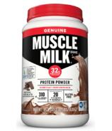 Muscle Milk Genuine Protein Powder Chocolate