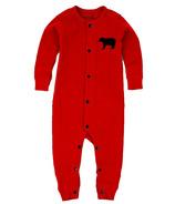 Little Blue House Infant Union Suit - Red Bear Bum