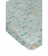 Loulou Lollipop Fitted Crib Sheet Up Up Away