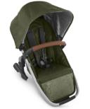 UPPAbaby VISTA V2 Rumbleseat Hazel Olive Silver Saddle Leather