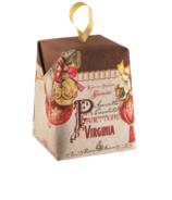 Boîte de Noël de Panettone Amaretti Virginia au chocolat Amaretto