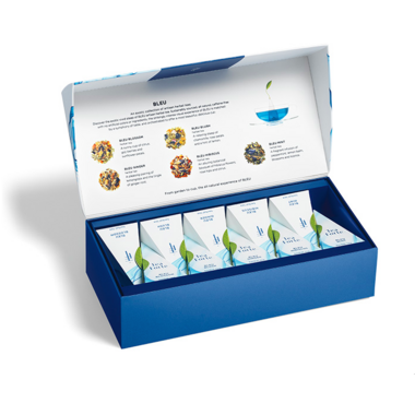 Tea Forte Bleu Herbal Petite Presentation Box
