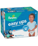 Pampers Easy Ups Training Underwear Super Pack Thomas & Friends or PJMASKS