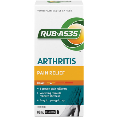 Rub A535 Arthritis Pain Relief Roll-On Lotion