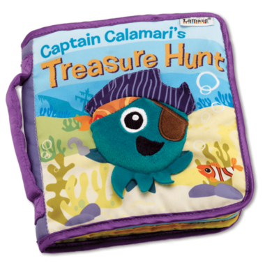 Lamaze Soft Book Captain Calamari Treasure Hunt