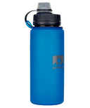 Nathan Sports Flexshot Silicone Water Bottle Electric Blue
