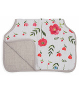 Little Unicorn Cotton Muslin Burp Cloth Summer Poppy