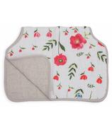Little Unicorn Cotton Muslin Burp Cloth Summer Poppy