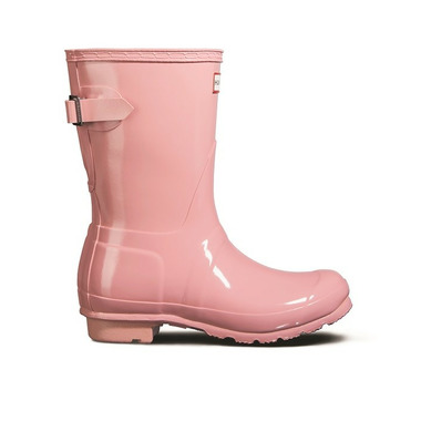 Hunter Boots Original Short Adjustable Gloss Candy Pink