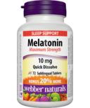 Webber Naturals Melatonin Maximum Strength