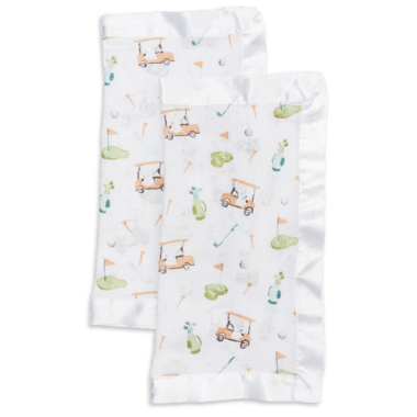 Lulujo Security Blankets Muslin Cotton Golf