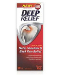 Deep Relief Dual Action Neck, Shoulder and Back Pain Relief