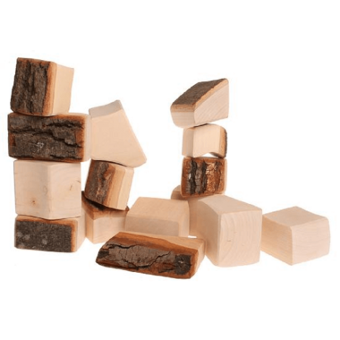 Grimm\'s Large Natural Blocks with Bark