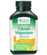 Adrien Gagnon Calcium Magnesium Balanced Ratio + Vitamin D