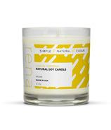Rena Natural Soy Candle Lemon Verbena