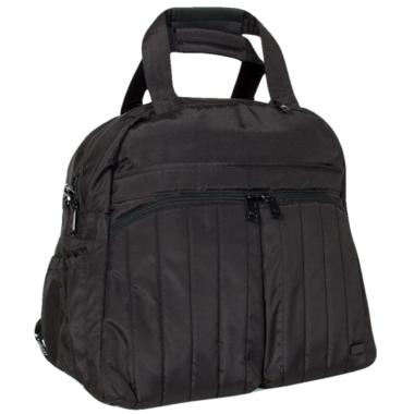 Lug Boxer Gym / Overnight Bag Large Brushed Black