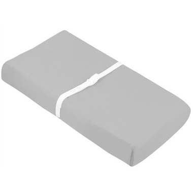 Kushies Flannel Change Pad Fitted Sheet Grey