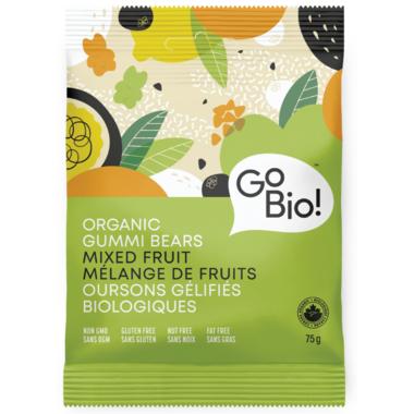 GoBio Organic Mixed Fruit Gummi Bears