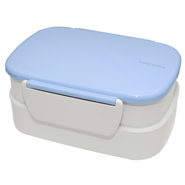 Takenaka Bento-Box Double Serenity Blue Lunch Box