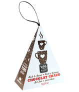 Wildly Delicious Rich & Dark Chocolat Chaud Hanging Ornament