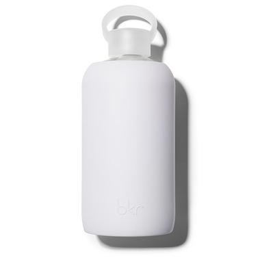 bkr Boo Glass Water Bottle Opaque Very Light Lavender