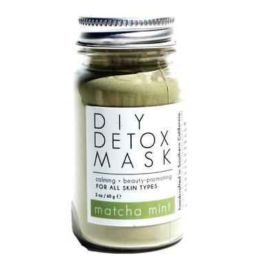Honey Belle DIY Detox Mask Matcha Mint