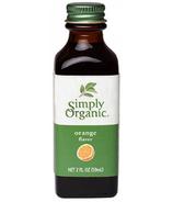 Simply Organic Orange Flavour